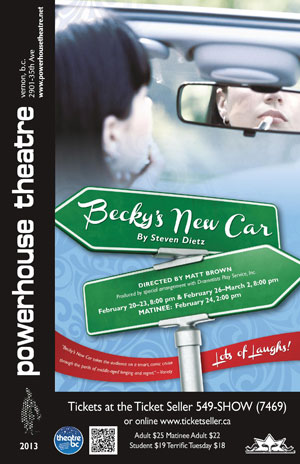 Becky's New Car Poster