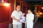 Raffle Winner Mr. Bill Blair