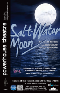 Salt Water Moon Poster